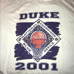 Duke Blue Devils 2001 National Championship Shirt